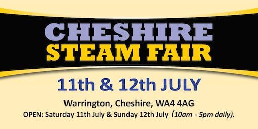 Cheshire Steam Fair 2020 (Buy Admission Tickets)