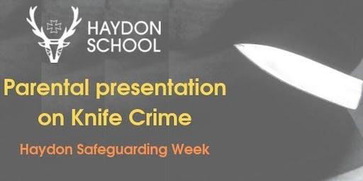 Keynote speaker for safeguarding week - Ali Cope