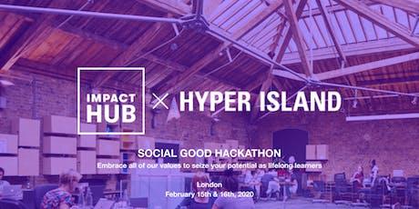 Hyper Island x Impact Hub - Social Good Hackathon 2020 tickets