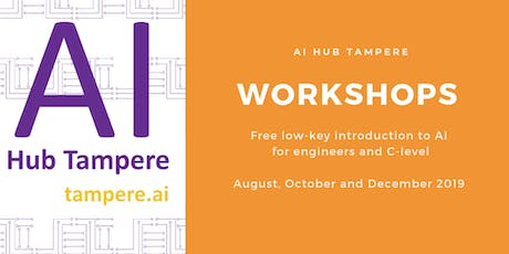 AI Hub Tampere Workshop on Applied AI tickets