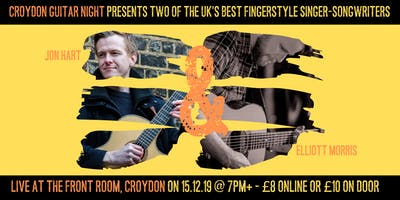 Croydon Guitar Night - Jon Hart & Elliott Morris