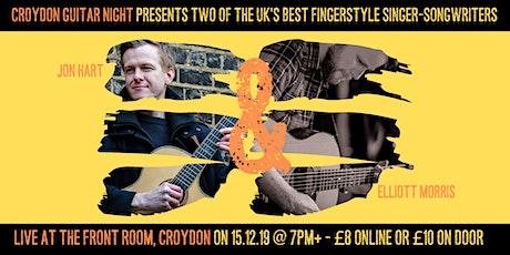Croydon Guitar Night - Jon Hart & Elliott Morris tickets