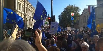 Valleys Coaches to October 2019 People's Vote March