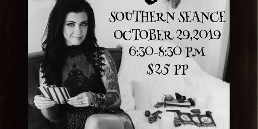 "Southern Seance with Angie Campbell "" the Southern Psychic"""