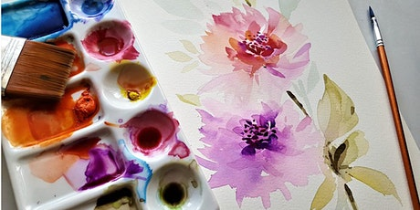 Painting Botanicals - Watercolour tickets