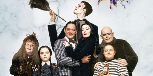Addams Family Halloween Party