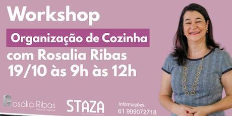 Workshop Organização de Cozinha em Goiânia ingressos