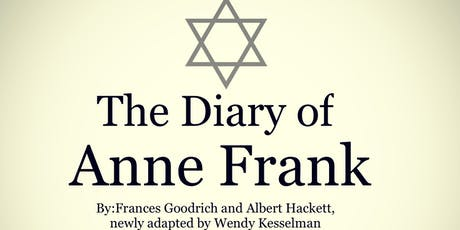 The Diary of Anne Frank tickets