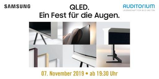 VIP-Abend: Samsung QLED – Ein Fest für die Augen