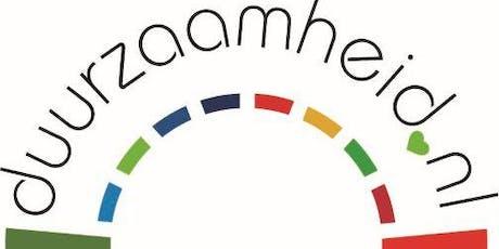 Promotiedagen 5 en 6 november aanmelden bijeenkomst Energie/duurzaamheid tickets