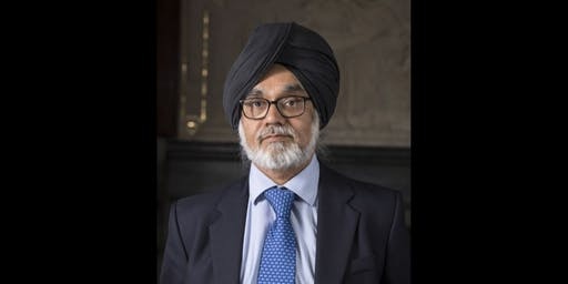 Being a Judge in Modern Britain with Sir Rabinder Singh
