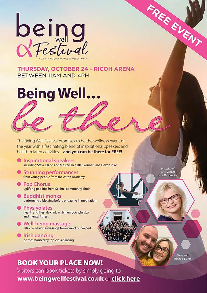 Being Well Festival 2019 image