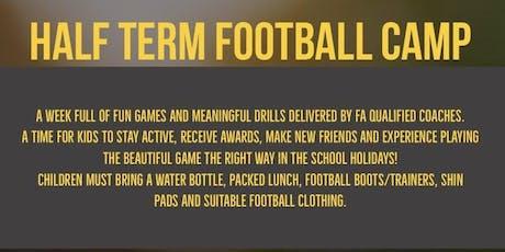 Half Term Football Camp tickets