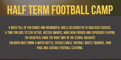 Half Term Football Camp