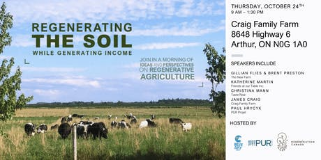 Perspectives Potluck: Regenerating Soil While Generating Income tickets