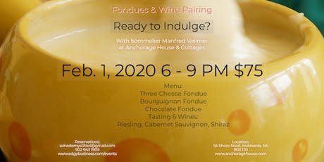 Fondues & Wine Pairing tickets