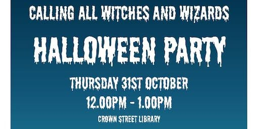 Darlington Libraries: Halloween Party (4-9 Year Olds)