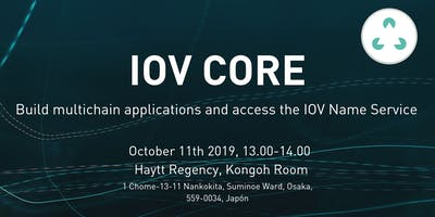IOV Core: build multichain applications and access the IOV Name Service