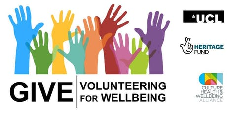 Give | Volunteering for Wellbeing Conference tickets