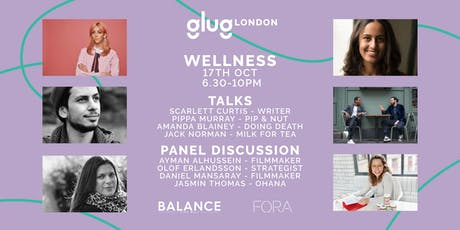 Glug London: Wellness tickets