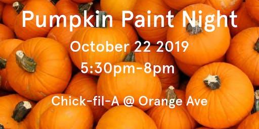 Pumpkin Paint Night 2019