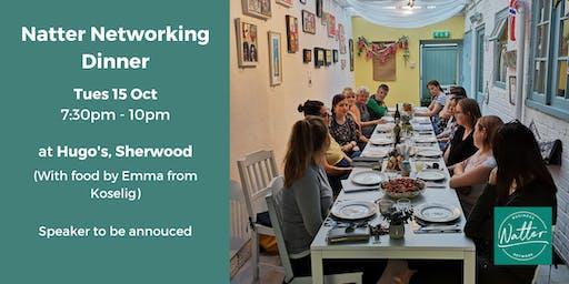 Natter Networking Dinner - October