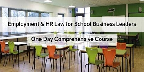 Employment & HR Law for School Business Leaders - Lancashire tickets