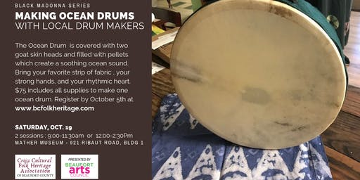 Making Ocean Drums with Sasa and Roland- Afternoon Class
