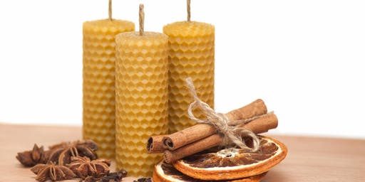 Beeswax Candle Making with Hives & Herbals