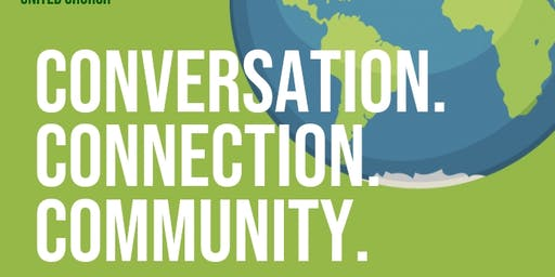 Conversation. Connection. Community. - Climate Crisis