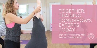 Full Pregnancy Yoga Teacher Training - 100hr