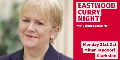 Curry Night w/ Johann Lamont MSP tickets