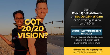 Got 20/20 VISION? A Super-Charged Growth Session! tickets