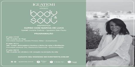 Body&Soul Inspiration - Curso com Márcia De Luca ingressos