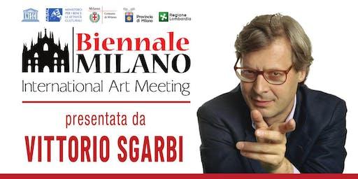 Biennale Milano di Sgarbi: le selezioni degli artisti