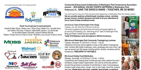 Taste of Washington Park Village Fundraiser tickets