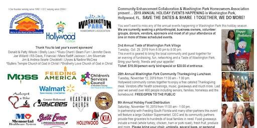 Taste of Washington Park Village Fundraiser