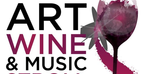 Saturday October 19th  Art Wine Food & Music Stroll Windermere