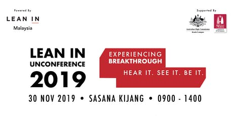 Un-Conference 2019 - Experiencing Breakthrough: Hear it. Be It. See It. tickets