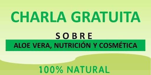 Charla De Aloe Vera, Nutrición Y Cosmética