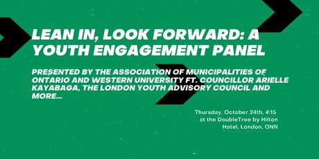 Lean In, Look Forward: A Youth Engagement Panel tickets