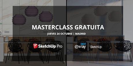 Masterclass gratuita | SketchUp y V-Ray Next entradas