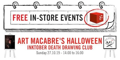 Art Macabre's Halloween Inktober Death Drawing Club tickets