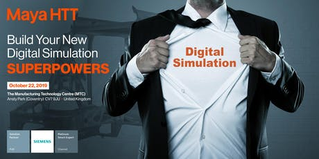 Build Your New Digital Simulation Superpowers tickets