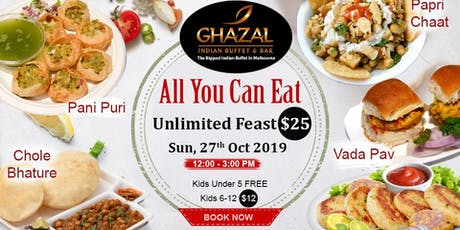 "Unlimited Fast Food feast "" All you can eat"" tickets"