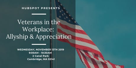 Veterans in the Workplace: Allyship & Appreciation tickets