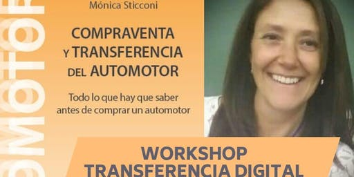 WORKSHOP TRANSFERENCIA DIGITAL + PRESENTACION LIBRO