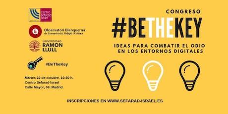 Congreso #BeTheKey entradas