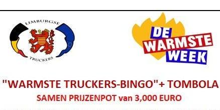 Warmste Truckers Bingo met Tombola