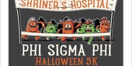 Phi Sigma Phi Halloween 5k tickets